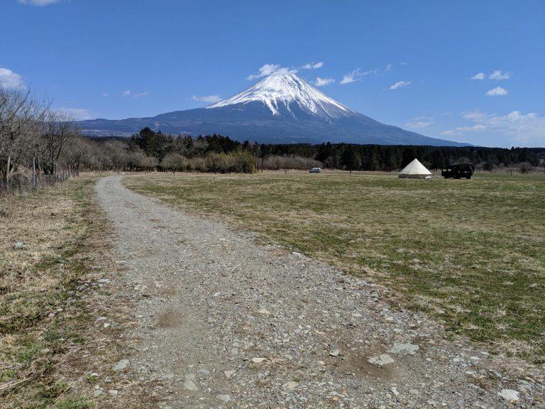場内の散策:富士山に向かって左手の道を進む