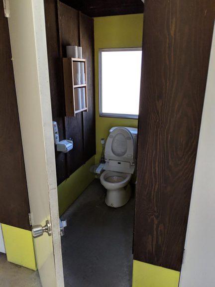 場内の散策:トイレ