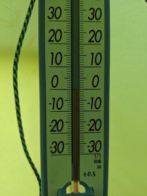 テント内に人が居れば0℃