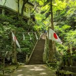 高尾山口駅発、高尾梅郷遊歩道、蛇滝コース、高尾山行き