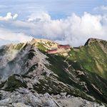 にわか登山者の限界、唐松岳~五竜岳テント泊