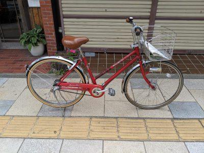 しなの庵 普通自転車(バーハンドル)