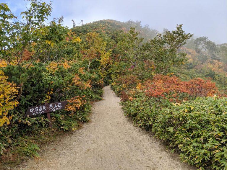 合戦沢ノ頭 燕山荘まで1.3km