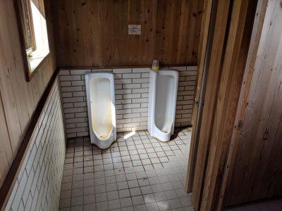 テント場用のトイレ