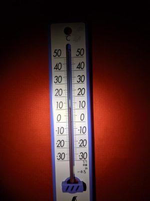 テント内温度10.5度(18時08分)