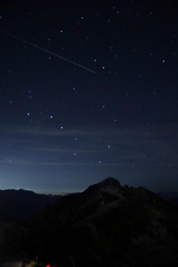 燕岳と北斗七星