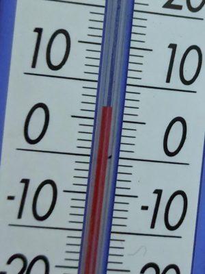 テント内温度6度(20時22分)