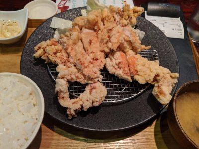 松本からあげセンター 山賊焼定食