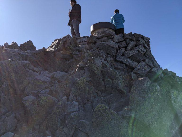 奥穂高岳展望台