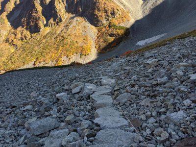 ザイテングラートからパノラマコースで下山