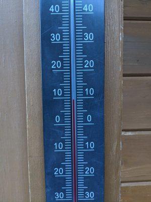 16時38分の気温9度