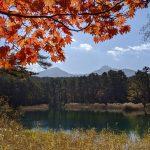 秋の裏磐梯、庄助キャンプ場(小野川湖)と中瀬沼・レンゲ沼・五色沼・桧原湖