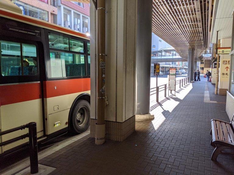 箱根湯本駅着