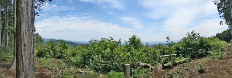 麻生山山頂パノラマ