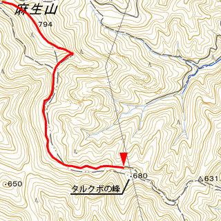 タルクボの峰