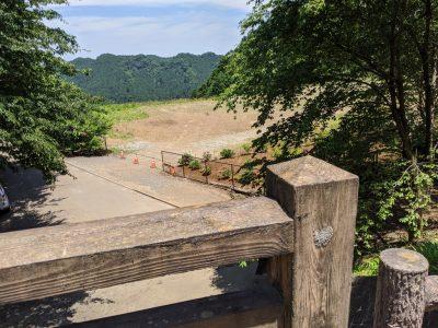 金比羅山手前の陸橋