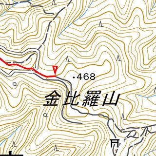 金比羅山付近