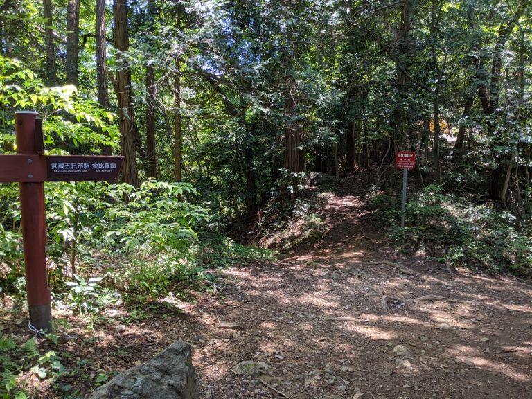 金比羅神社分岐