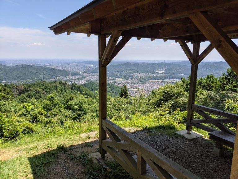 金比羅公園東屋からの眺望
