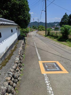 武蔵五日市駅への道