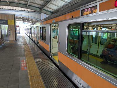 JR武蔵五日市線 拝島行き