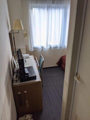 ホテル飯田屋の室内