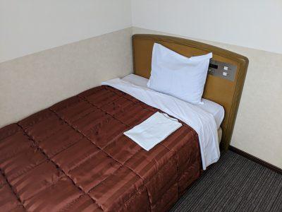 ホテル飯田屋のベッド