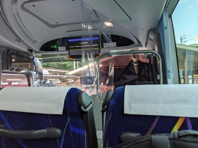 乗鞍高原行きのバスに乗車