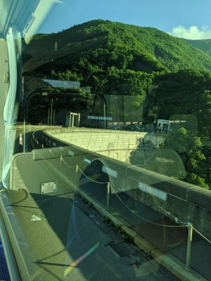 奈川渡(ながわど)ダム