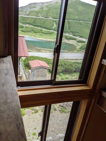 窓からの見える景色