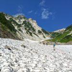 初秋の大雪渓を登る 白馬岳テント泊~憧れの稜線へ(猿倉→栂池)