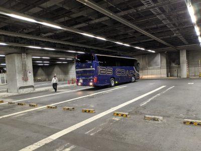 毎日あるぺん号のバス