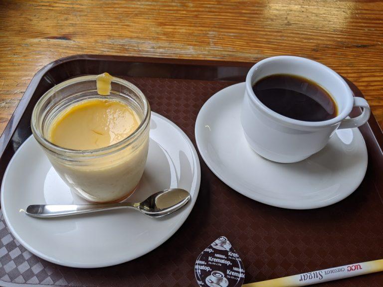 白馬岳頂上宿舎 プリントコーヒー