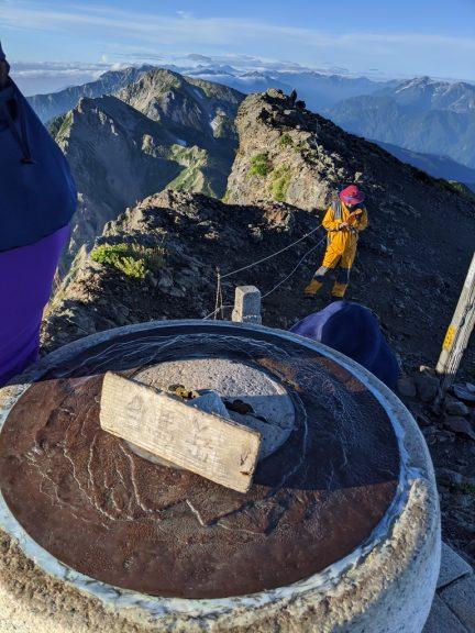 白馬岳 展望盤