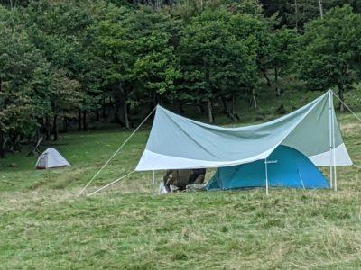 余所様のテント