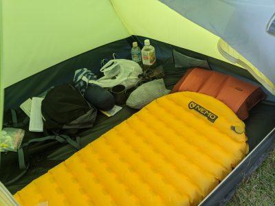 自分のテント