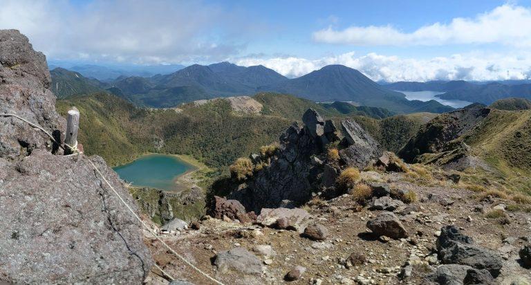 五色沼と中禅寺湖