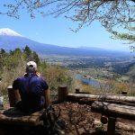 田貫湖キャンプ場にテントを置いて長者ヶ岳・天子ヶ岳