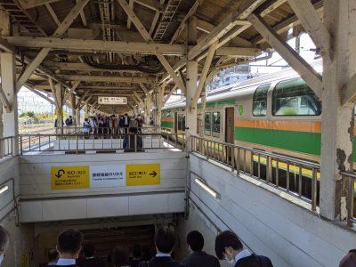 沼津駅で乗り換え