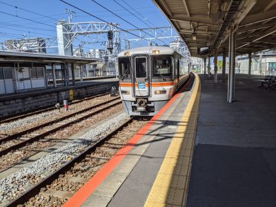 富士駅ホーム