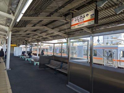 富士宮駅ホーム