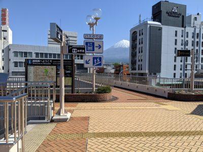 富士宮駅 ペデストリアンデッキ