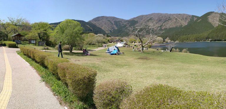田貫湖キャンプ場 Aサイト