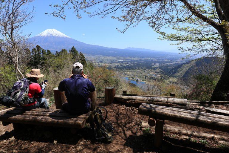 休暇村分岐からの富士山