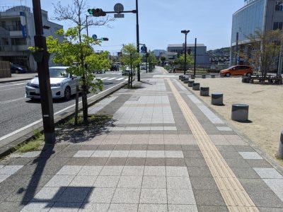 富士宮駅への道