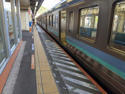 JR中央本線各駅停車 高尾始発松本行き