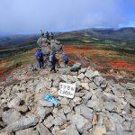 松川温泉から三ツ石山へ登る~紅葉めぐりその2