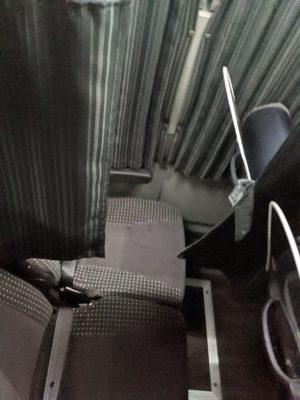 夜行バス座席