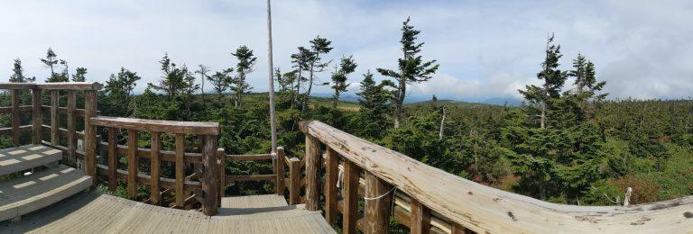八幡平山頂からの眺め