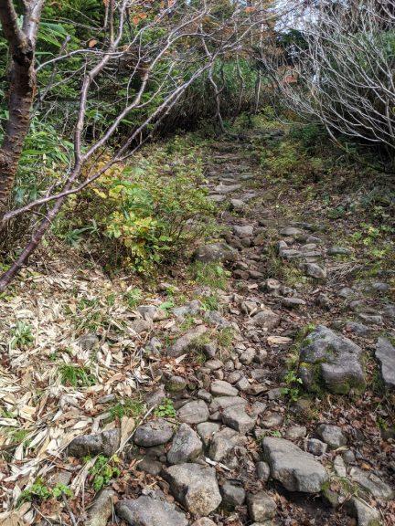 黒谷地~茶臼岳 茶臼岳への登り